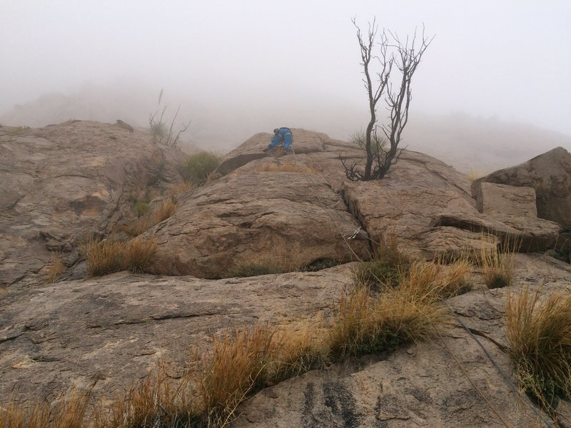 Rock Climbing Photo: Start of a possible, and highly recommended, Pitch...