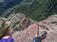 Rock Climbing Photo: Summit Third Flatiron