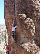 Rock Climbing Photo: Jason S. on (Severed member)