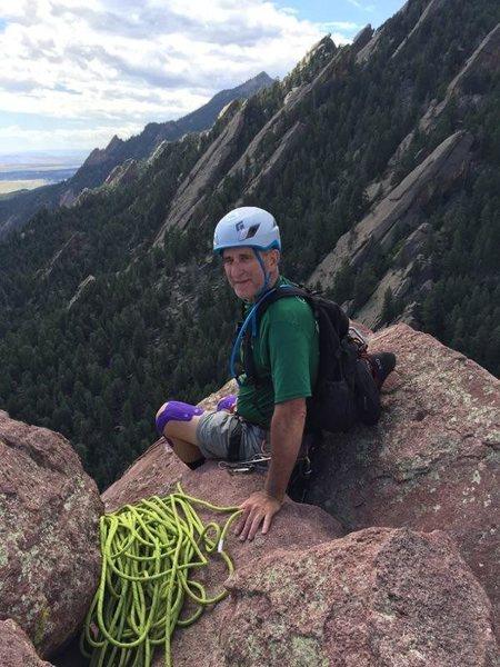 Rock Climbing Photo: Summit Third Flatiron
