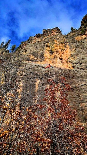 Rock Climbing Photo: Feeling the Love. December 2015.