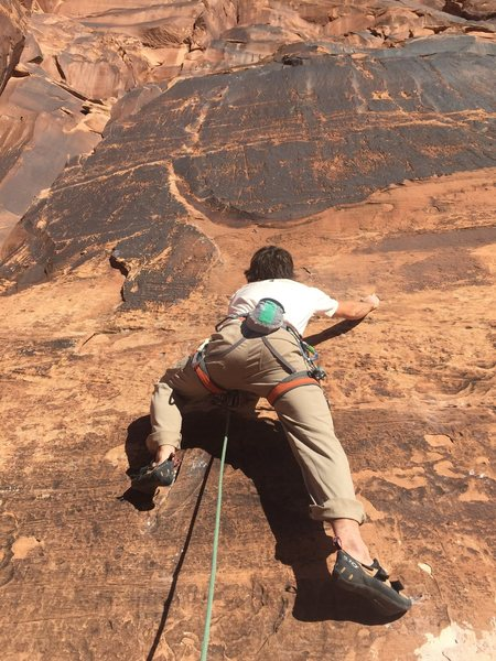 Rock Climbing Photo: Yeah dude, I'm totally spotting. Jeff before the f...