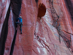 Rock Climbing Photo: This is one striking crack!