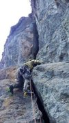 Right before the crux