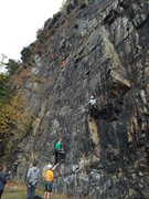 Rock Climbing Photo: Main Street and Library
