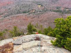 Rock Climbing Photo: Bella Vista, view from P3.