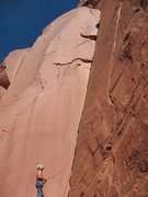 Rock Climbing Photo: lake powell offers endless first ascents for those...