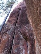 Rock Climbing Photo: Much harder than it looks.