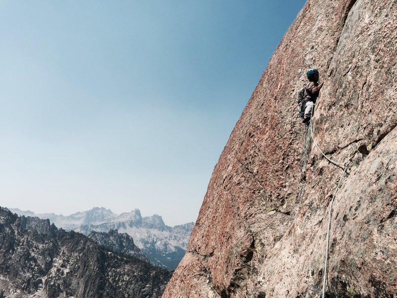 Rock Climbing Photo: Exposure!