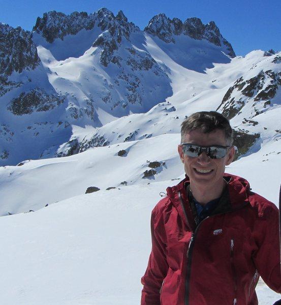 Belledonne skiing Cime du Sambuis