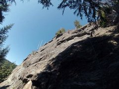 Rock Climbing Photo: all snuggly.