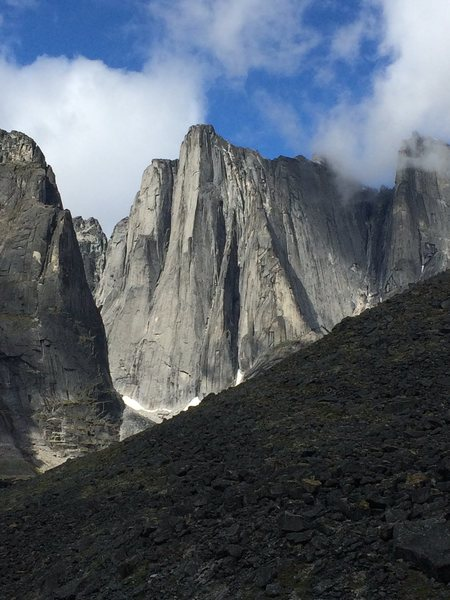 Rock Climbing Photo: The Lotus Flower Tower, Cirque of the Unclimbables