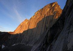 Rock Climbing Photo: A wilderness bigwall at it's finest - the Southeas...