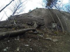 Rock Climbing Photo: Harder than it looks
