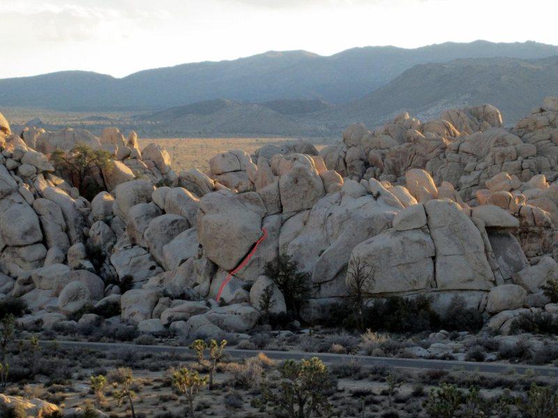 Rock Climbing Photo: The Crawdad