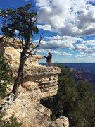 Rock Climbing Photo: North rim