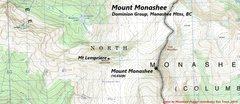 Rock Climbing Photo: Mount Monashee
