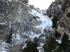 Rock Climbing Photo: Tatum Falls