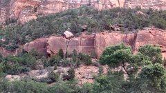 Rock Climbing Photo: The crag
