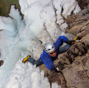 Rock Climbing Photo: Ouray mixed