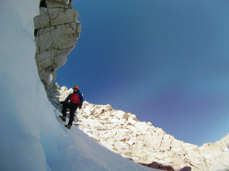 Mt. Whitney, Mountaineers Route. Descent