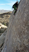 Rock Climbing Photo: almost at the good hold