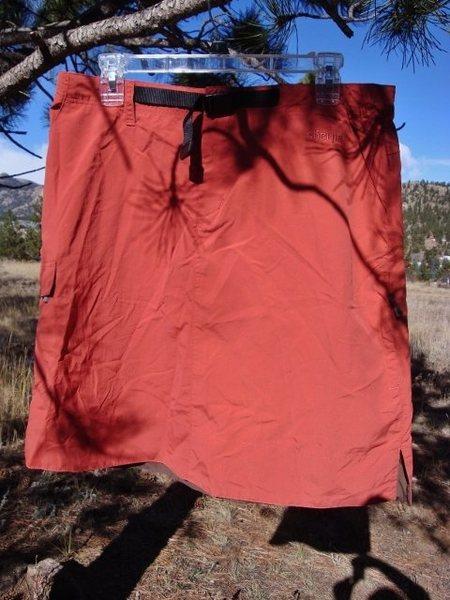 Rock Climbing Photo: Sherpa Skirt