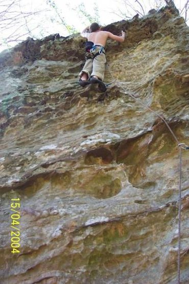 Rock Climbing Photo: Paratrooper