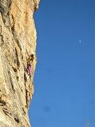 Rock Climbing Photo: Jenn Choi at the Ruins 12/17/15