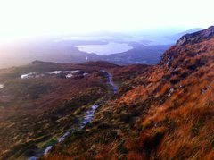 Near the top of Diamond Hill, Connemara NP, Galway Co. Ireland
