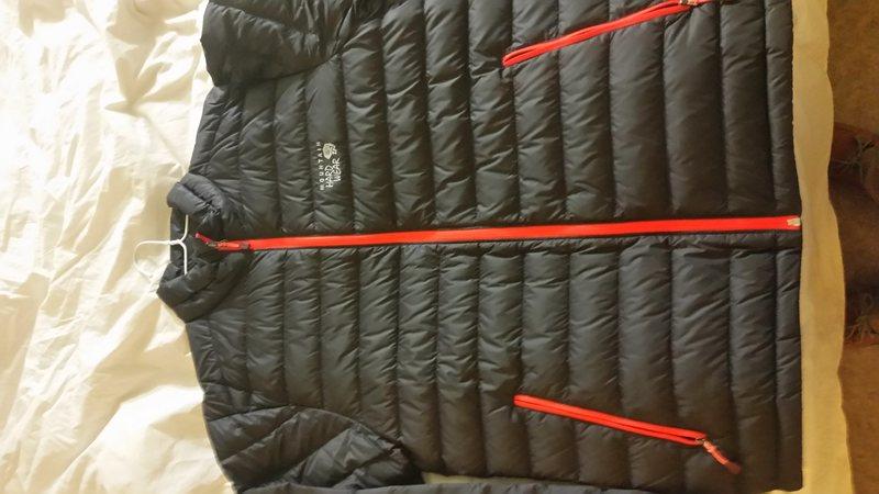 Rock Climbing Photo: Mountain Hardwear Nitrous Jacket
