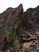 Rock Climbing Photo: At the base of Whitney Gilman Ridge