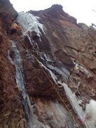 Rock Climbing Photo: Rock of Ages The right side  Second pitch November...