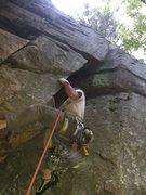 Rock Climbing Photo: Wide!