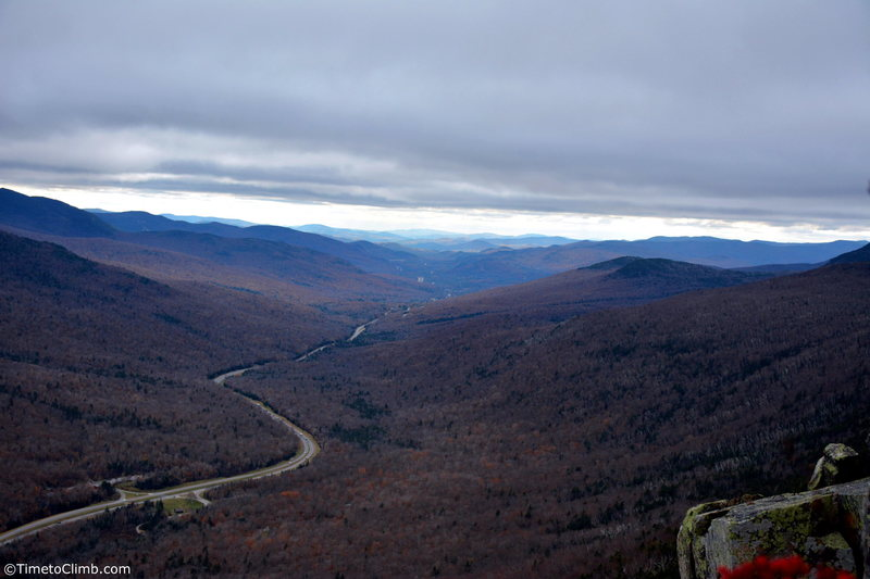 The view of Franconia from the top<br>