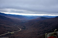 Rock Climbing Photo: The view of Franconia from the top