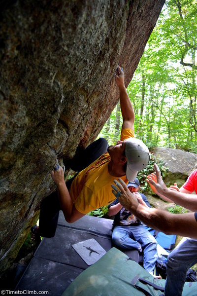 Rock Climbing Photo: Mel Rivera on Power of the Pessimist Link
