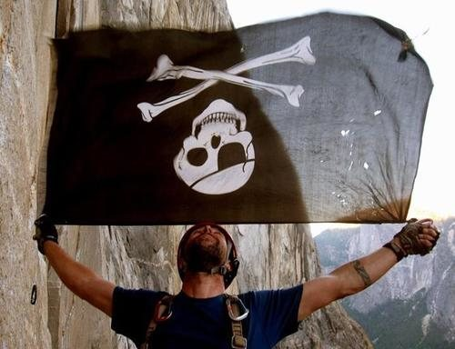 Rock Climbing Photo: Pirate Profile Pic