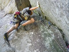 Rock Climbing Photo: Way fun