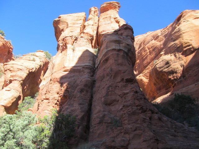 Rock Climbing Photo: snaggletooth spire
