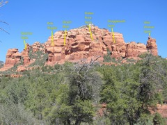 Rock Climbing Photo: Area overview photo