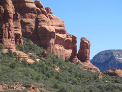 Rock Climbing Photo: Rotten Rock Spire (far right)