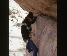 Rock Climbing Photo: Way back