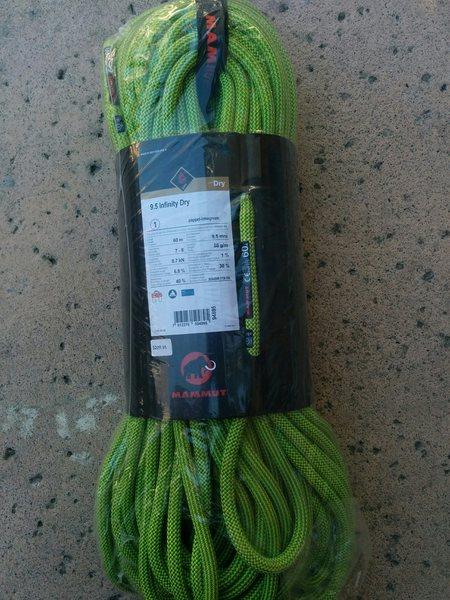 Rock Climbing Photo: Mammut rope