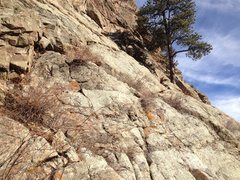 Rock Climbing Photo: The climb up area to the top of the Little Five ar...