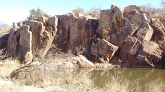 Rock Climbing Photo: Marlboro Wall