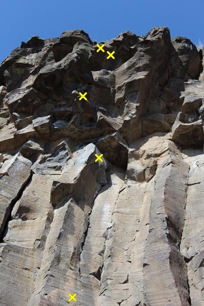 Upper bolts of Hara-Kari In a Combine