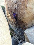 Rock Climbing Photo: Me on the Tango