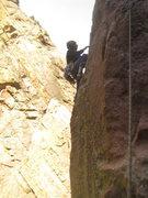 Rock Climbing Photo: west butt