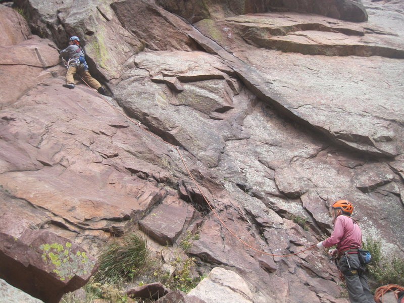 Rock Climbing Photo: rob kellman still shredin!